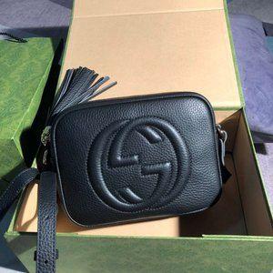 💖💖💖NWT Gucci Soho Black Disco Bag 💖💖💖